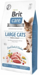 Brit Care Cat Grain-Free Large cats Power & Vitality 7kg