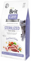 Brit Care Cat Grain-Free Sterilized Weight Control 7kg