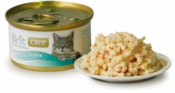 Brit Care Cat Kitten konzerva kuřecí prsa 80g