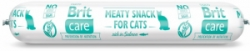 Brit Care Cat Meaty Snack Sausage Salmon 80g