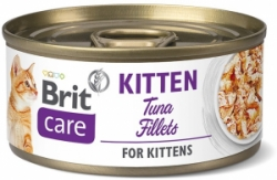 Brit Care Cat konzerva Fillets Kitten Tuna 70g