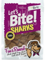 Brit pochoutka Let's Bite Sharks 150g