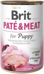 Brit Dog Paté & Meat Puppy konzerva 800g