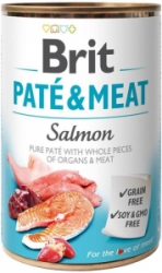 Brit Dog Paté & Meat Salmon konzerva 800g