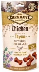 Carnilove Cat Semi Moist Snack Chicken with Thyme 50g