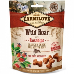 Carnilove Dog Crunchy Snack Wild Boar with Rosehips 200g