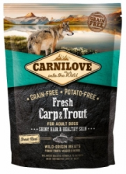 Carnilove Dog Fresh Carp & Trout for Adult 1,5kg