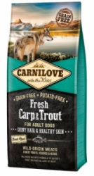 Carnilove Dog Fresh Carp & Trout for Adult 12kg