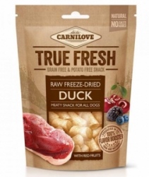 Carnilove Raw freeze-dried Duck with red fruits 40g