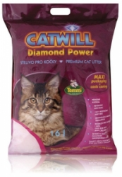 Catwill Diamond Power podestýlka pohlc. pach 16l