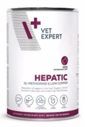 VetExpert VD 4T Hepatic Dog konzerva 400g