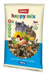 Darwin's Činčila, Osmák Happy mix 500g