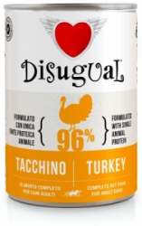 Disugual Dog Mono Turkey konzerva 400g