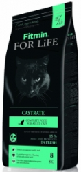 Fitmin cat For Life Castrate 1,8kg