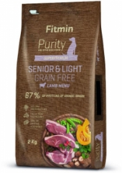 Fitmin dog Purity GF Senior & Light Lamb 2kg