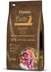 Fitmin dog Purity Rice Puppy Lamb & Salmon 12kg