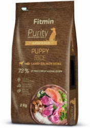 Fitmin dog Purity Rice Puppy Lamb & Salmon 2kg