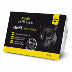 Fitmin For Life cat MENU meat mix 325g