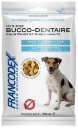 Francodex Pochoutka Breath Dental pes 70g
