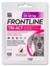 Frontline Tri-Act pro psy Spot-on L (20-40 kg)