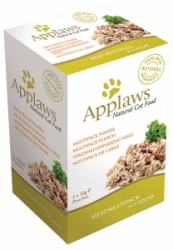 Applaws Cat Chicken Meat in Jelly multipack kapsičky 250g