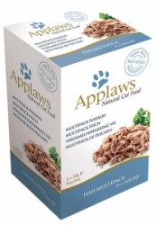 Applaws Cat Fish Meat in Jelly multipack kapsičky 250g