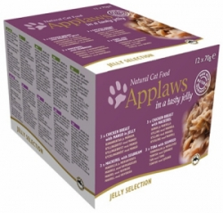 Applaws Cat Jelly Selection multipack konzervy 12 x 70g