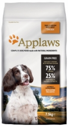 Applaws Dog Chicken Small & Medium Breed Adult 7,5kg
