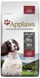 Applaws Dog Lamb Small & Medium Breed Adult 2kg