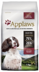 Applaws Dog Lamb Small & Medium Breed Adult 7,5kg