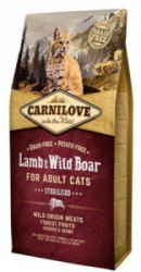 Carnilove Cat Lamb&Wild Boar Adult Sterilised 2kg