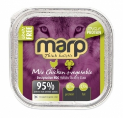 Marp Holistic Dog vanička Mix Chicken & Vegetable 100g