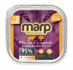 Marp Holistic Dog vanička Mix Lamb & Vegetable 100g