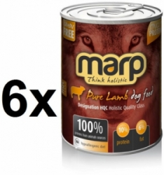 Marp Holistic Dog konzerva Pure Lamb 6x400g