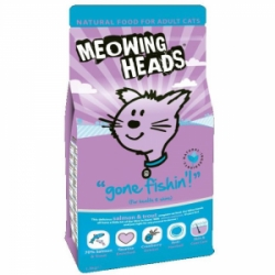 Meowing Heads Gone Fishing 250g