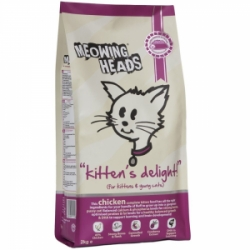 Meowing Heads Kittens Delight 250g