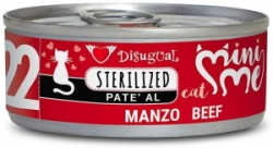 Disugual Cat Mini Me 22 Sterilized konzerva hovězí 85g