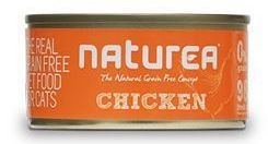 Naturea GF Cat Chicken konzerva 80g