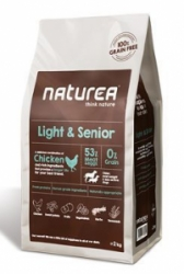 Naturea GF Dog Light & Senior 12kg