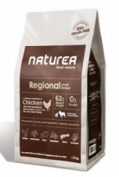 Naturea GF Dog Regional Adult Small Breed 2kg
