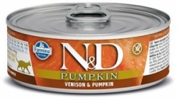 N&D CAT PUMPKIN Adult Venison & Pumpkin 80g