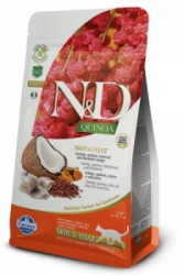 N&D GF Quinoa CAT Skin&Coat Herring & Coconut 5kg