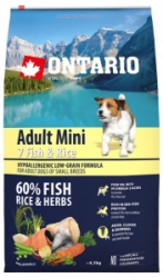 Ontario Adult Mini Fish&Rice 6,5kg