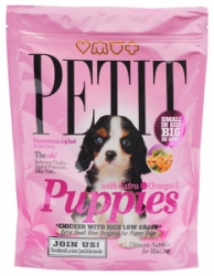 PETIT Dry Puppies with Extra Omega-3 Low Grain 300g