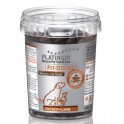 Platinum Natural FIT Sticks Chicken&Lamb pamlsky 300g