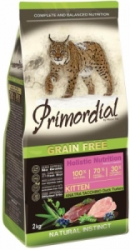 Primordial GF Kitten Adult Duck & Turkey 2 kg
