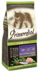 Primordial GF Cat Sterilizzato Turkey & Herring 2 kg