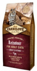 Carnilove Cat Reindeer for Adult Energy&Outdoor 6kg