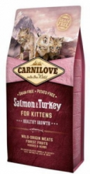 Carnilove Cat Salmon&Turkey for Kittens HG 6kg