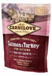 Carnilove Cat Salmon&Turkey for Kittens HG 400g